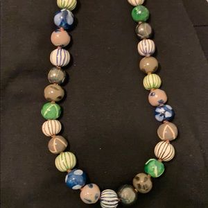 Cool vintage bead necklace